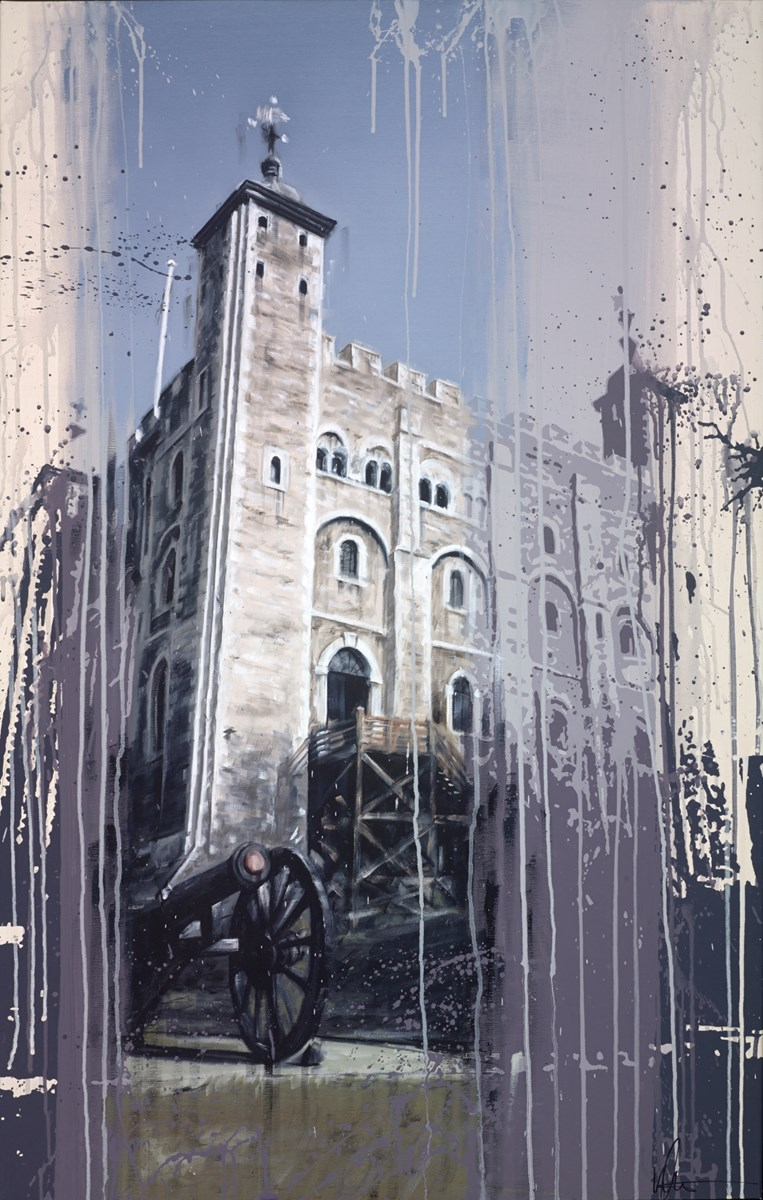 Tower of London II by kris hardy -  sized 28x44 inches. Available from Whitewall Galleries